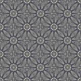 Bezszwowa ręka rysujący mandala wzór Roczników elementy w orienta Fotografia Stock
