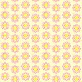 Bezszwowa retro kwitnąca tapeta Zdjęcie Royalty Free