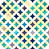 Bezszwowa rocznik abstrakcjonistyczna gwiazda Obrazy Royalty Free