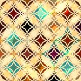 Bezszwowa rocznik abstrakcjonistyczna gwiazda Fotografia Royalty Free