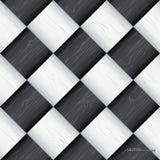 Bezszwowa szachowej deski tekstura royalty ilustracja