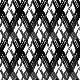 Bezszwowa szczotkarska ręka rysujący pióra doodle wzór Wektorowy tło Fotografia Royalty Free