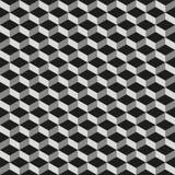 Bezszwowa sześcianu wzoru tła tekstura royalty ilustracja