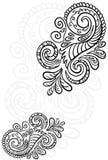 bezszwowa tło ślimacznica kwiecista deseniowa Zdjęcie Stock