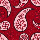 bezszwowa tło abstrakcjonistyczna czerwień Zdjęcia Royalty Free