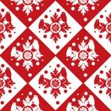 bezszwowa tło czerwień Obraz Royalty Free