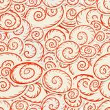 bezszwowa tło czerwień Fotografia Stock