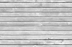 Bezszwowa tło tekstura, biała drewniana ściana Fotografia Stock