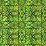 Bezszwowa tło tekstura w postaci kalejdoskopu witrażu kolorowego również zwrócić corel ilustracji wektora Obraz Stock