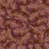 Bezszwowa tło wzoru tekstura kamienni jagoda liście ustawia 1 Obrazy Royalty Free