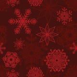 Bezszwowa tło zima Obraz Royalty Free