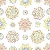 Bezszwowa tafluje abstrakcjonistyczna ornamentacyjna tekstura Zdjęcia Stock