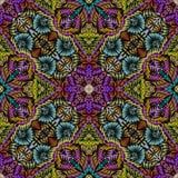 Bezszwowa tafluje kolorowa tekstura Fotografia Royalty Free