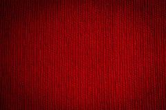 Bezszwowa tekstura Czerwony płótno obrazy stock