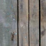 Bezszwowa tekstura stary drewniany ogrodzenie Zdjęcie Stock