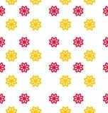 Bezszwowa tekstura z kwiatami, elegancja dzieciaka wzór royalty ilustracja