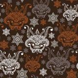 Bezszwowa tekstura z occult symbolem 4 Obraz Royalty Free