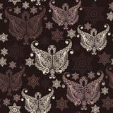 Bezszwowa tekstura z occult symbolem 8 Fotografia Royalty Free