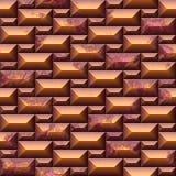 Bezszwowa tekstura z pomarańcze ścianą royalty ilustracja