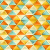 Bezszwowa tekstura z trójbokami. Obrazy Stock