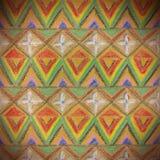Bezszwowa tekstura z trójbokami Zdjęcie Royalty Free