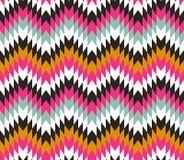 Bezszwowa tekstura z zygzag obrazy stock