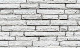 Bezszwowa tło tekstura szary ściana z cegieł Obraz Royalty Free