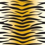 Bezszwowa tygrysia skóra ilustracji