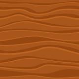 Bezszwowa wektorowa drewniana tekstura Zdjęcia Royalty Free