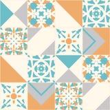 Bezszwowa wektorowa tekstura patchwork ilustracja wektor