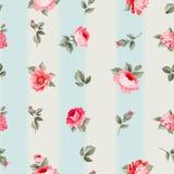bezszwowa wzór róża royalty ilustracja