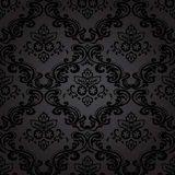 Bezszwowa wzoru Background.Damask tapeta. Zdjęcie Royalty Free