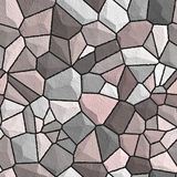 bezszwowa wzoru kamienna ściana Obraz Royalty Free