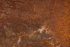 Bezszwowa Zrudziała tekstura jako Rdzewiejący metalu tło obraz stock