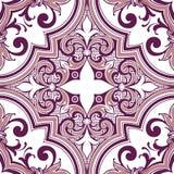 Bezszwowe colourful ornament płytki Zdjęcie Royalty Free
