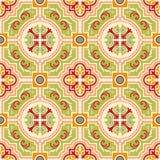 Bezszwowe colourful ornament płytki Zdjęcia Stock