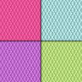 Bezszwowe deseniowe geometryczne papierowe tekstury Fotografia Royalty Free