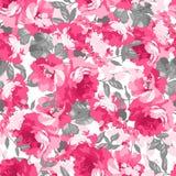 bezszwowe deseniowe różowe róże Obraz Stock