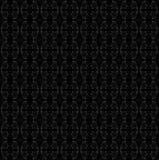 Bezszwowe elipsa wzoru czerni szarość Obraz Stock