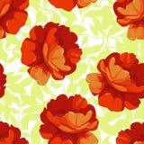 bezszwowe kwieciste deseniowe róże Zdjęcie Stock