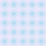 Bezszwowe miarowe koronki deseniują światło białe - błękitna purpura ilustracji