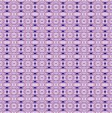 Bezszwowe miarowe retro deseniowe fiołkowe purpury royalty ilustracja