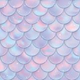 bezszwowe rybie deseniowe skala Syrenka ogonu tekstura również zwrócić corel ilustracji wektora obrazy stock