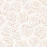 bezszwowe tło róże royalty ilustracja