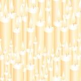 Bezszwowe świeczki Obraz Royalty Free