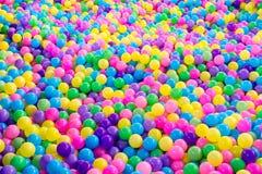 Bezszwowe wielo- koloru klingerytu piłki Zdjęcia Stock