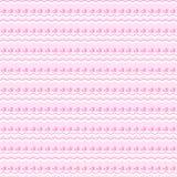 bezszwowe wzór śliczne menchie Niekończący się tekstura Obrazy Stock