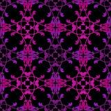 Bezszwowego antyka wzoru ornamentu geometryczny tło Zdjęcia Royalty Free