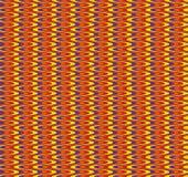 Bezszwowego colour falisty wzór Obrazy Stock