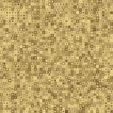 Bezszwowego koloru geometryczny wzór również zwrócić corel ilustracji wektora Retro kolorowy kwadrat kropkuje bezszwowego wzór Fotografia Stock